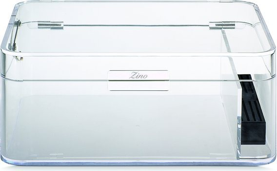 Zino Humidor trasparente in acrilico
