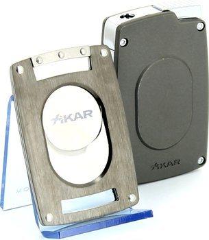 Xikar Ultra Set Abbinamento Tagliasigari/Accendino Canna di Fucile