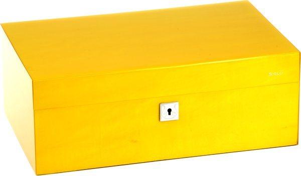 Siglo Humidor dimensione M 75 giallo