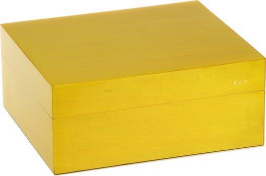 Siglo Humidor dimensione S 50 giallo