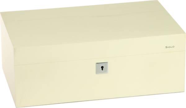 Siglo Humidor dimensione M 75 bianco
