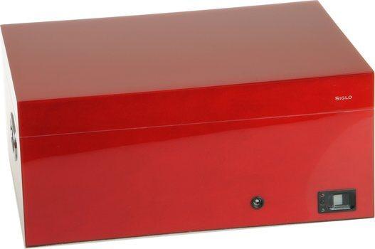Siglo Humidor impronta digitale rossa