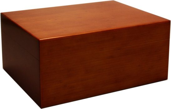 Humidor Bamboo Brown Glassato 50