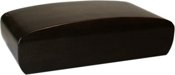 Konvex Humidor Bamboo Nero Glassed 80