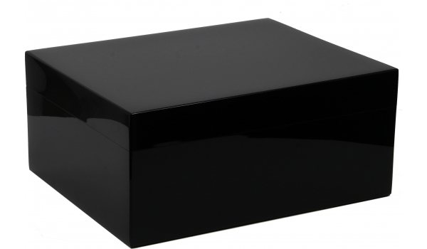 Guy Janot Humidor Black Piano Lacca 50