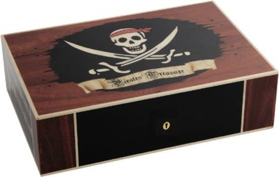 Humidor Elie Bleu Tesoro dei Pirati Edizione Limitata per 110 Sigari