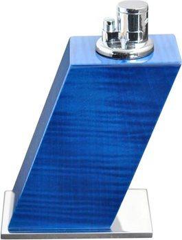 Elie Bleu Accendino da tavolo Sicomoro tinto blu