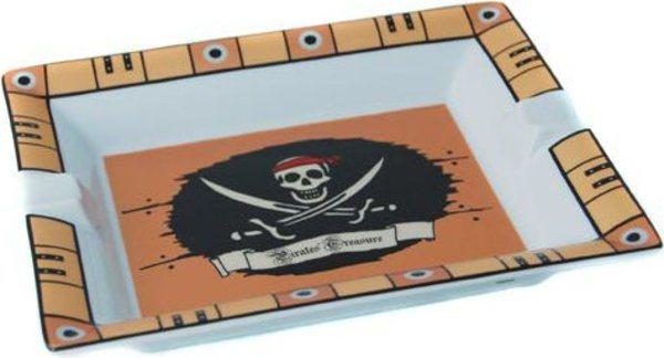 Posacenere in Porcellana Elie Bleu - tesoro dei pirati