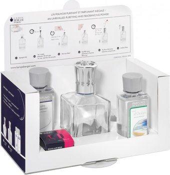 Lampe Berger Kit Iniziale : cubi chiari in vetro + 180 ml neutri + 180 mL gusto aria d'Oceano