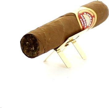 Supporto per sigari dorato