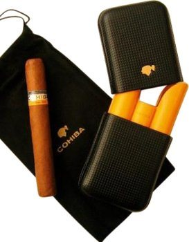 Custodia in pelle 3 dita Cohiba