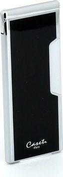 Caseti Piezo sottile cromato / nero
