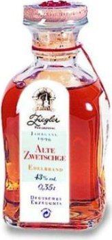 Ziegler Alte Zwetschge 0,35l - Jg. 1996 - Brandy