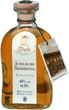 Ziegler Jubiläums Bierbrand 0,35l - Brandy